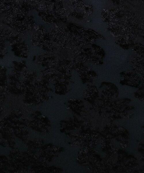 Couture Brooch / クチュールブローチ ミニ・ひざ丈スカート   【WEB限定サイズ(LL)あり/手洗い可】カットジャガードミモレ丈スカート   詳細6