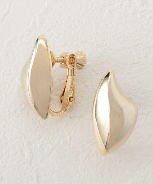 Couture Brooch/クチュールブローチ モードメタルイヤリング ゴールド(007) 00