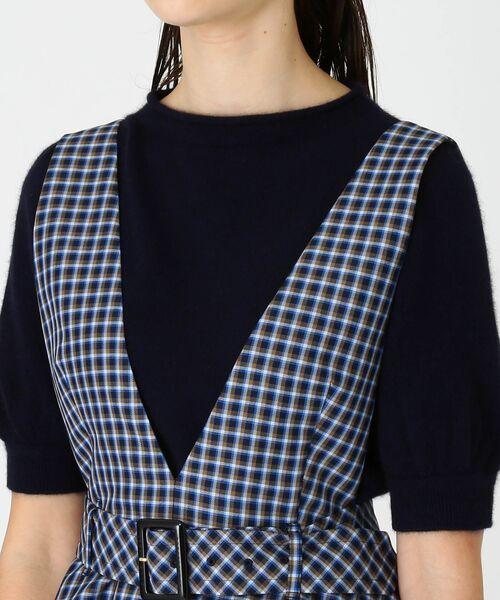 BLUE LABEL / BLACK LABEL CRESTBRIDGE / ブルーレーベル / ブラックレーベル・クレストブリッジ  ドレス | ブリットチェックジャンパードレス | 詳細3