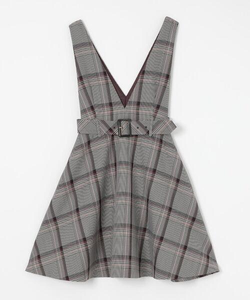 BLUE LABEL / BLACK LABEL CRESTBRIDGE / ブルーレーベル / ブラックレーベル・クレストブリッジ  ドレス | ブリットチェックジャンパードレス | 詳細12