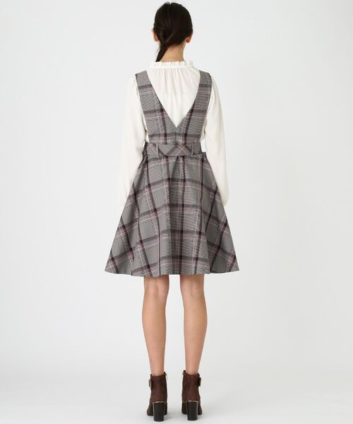 BLUE LABEL / BLACK LABEL CRESTBRIDGE / ブルーレーベル / ブラックレーベル・クレストブリッジ  ドレス | ブリットチェックジャンパードレス | 詳細8