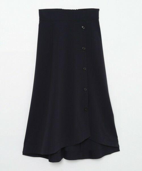 BLUE LABEL / BLACK LABEL CRESTBRIDGE / ブルーレーベル / ブラックレーベル・クレストブリッジ  ミニ・ひざ丈スカート | ソフトドライギャバ フレアスカート | 詳細7