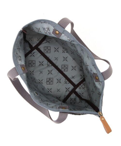 Daily russet / デイリーラシット トートバッグ | 【NEWジャガード】ポケット付きトートバッグ(小) | 詳細13