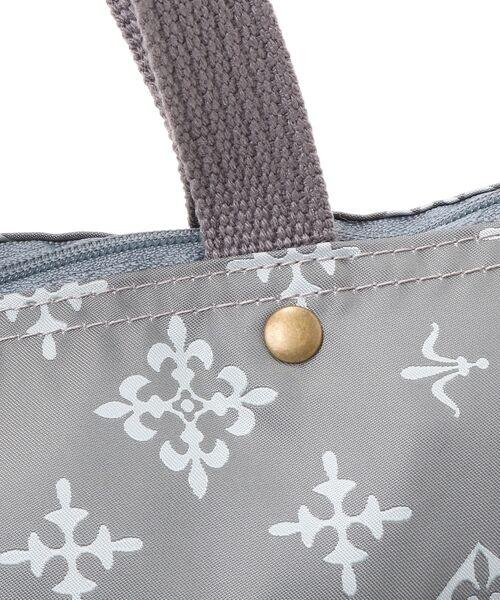 Daily russet / デイリーラシット トートバッグ | 【NEWジャガード】ポケット付きトートバッグ(小) | 詳細6