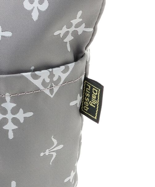 Daily russet / デイリーラシット トートバッグ | 【NEWジャガード】ポケット付きトートバッグ(小) | 詳細8