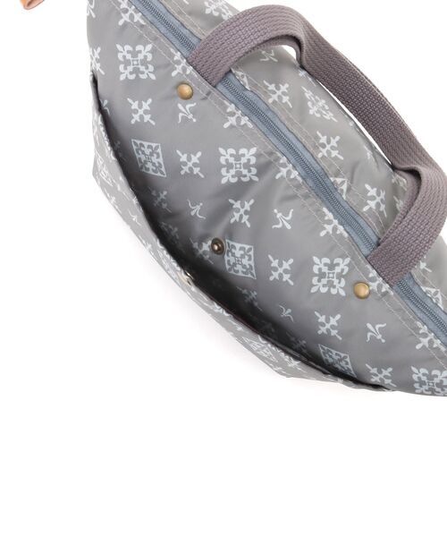 Daily russet / デイリーラシット トートバッグ | 【NEWジャガード】ポケット付きトートバッグ(小) | 詳細10