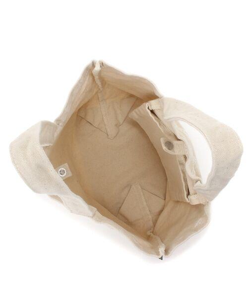 Daily russet / デイリーラシット トートバッグ | 製品染めモノグラムトートバッグ | 詳細1
