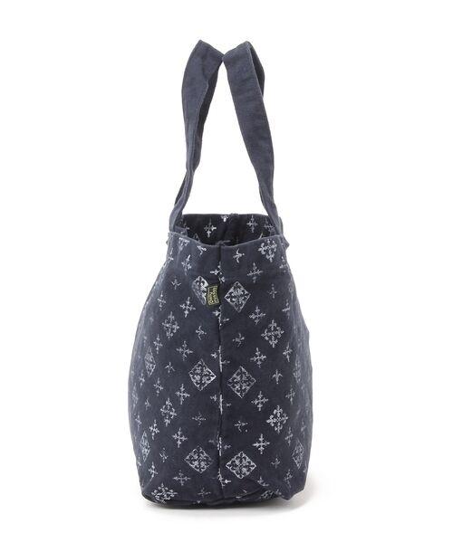 Daily russet / デイリーラシット トートバッグ | 製品染めモノグラムトートバッグ | 詳細2
