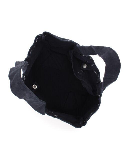 Daily russet / デイリーラシット トートバッグ | 製品染めモノグラムトートバッグ | 詳細11