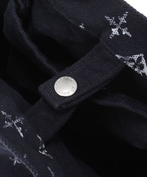 Daily russet / デイリーラシット トートバッグ | 製品染めモノグラムトートバッグ | 詳細6