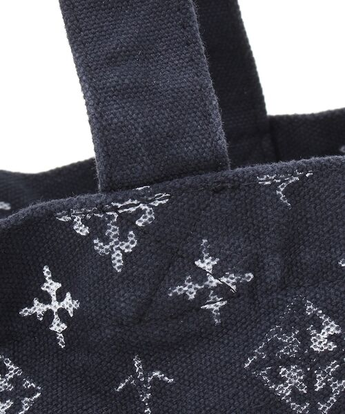Daily russet / デイリーラシット トートバッグ | 製品染めモノグラムトートバッグ | 詳細7