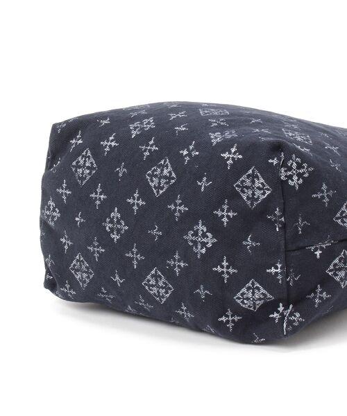 Daily russet / デイリーラシット トートバッグ | 製品染めモノグラムトートバッグ | 詳細9