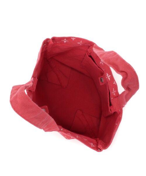 Daily russet / デイリーラシット トートバッグ | 製品染めモノグラムトートバッグ | 詳細13