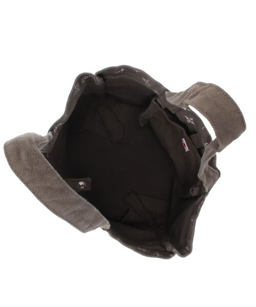 Daily russet / デイリーラシット トートバッグ | 製品染めモノグラムトートバッグ | 詳細15