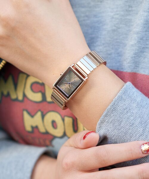 Daily russet / デイリーラシット 腕時計 | ジャバラスクエアウォッチ/腕時計(グレー)
