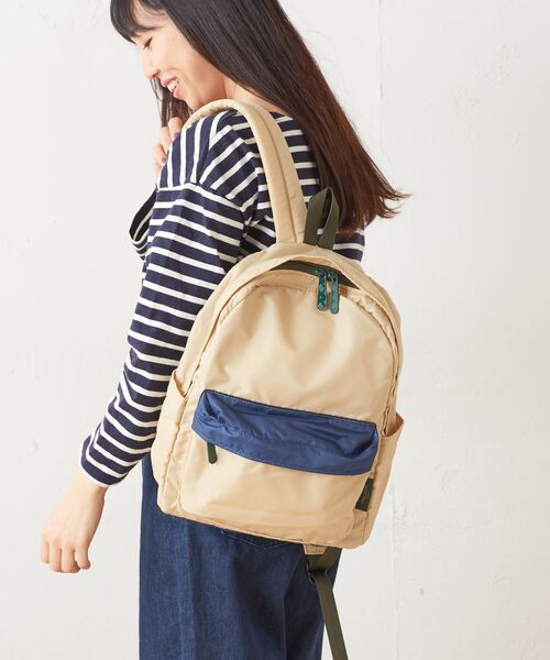 Daily russet / デイリーラシット リュック・バックパック | Backpack(L)/リュックサック(ベージュ)