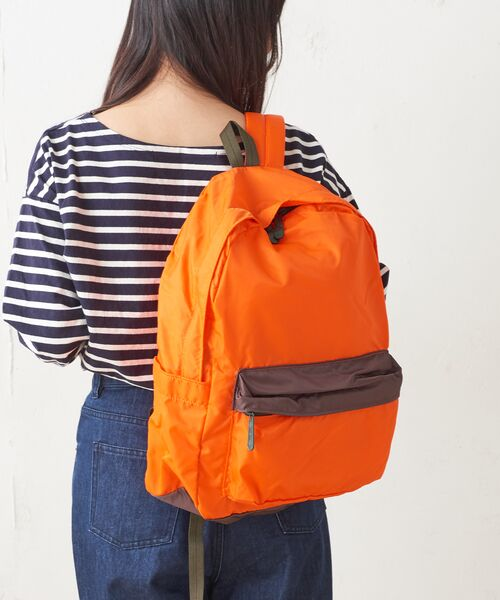 Daily russet / デイリーラシット リュック・バックパック | Backpack(L)/リュックサック(オレンジ)