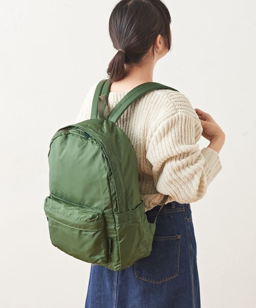Daily russet / デイリーラシット リュック・バックパック | Backpack(L)/リュックサック(ダークグリーン)