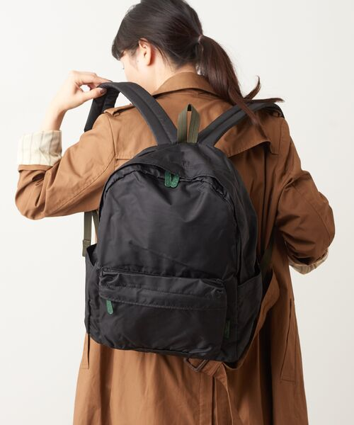 Daily russet / デイリーラシット リュック・バックパック   Backpack(L)/リュックサック(ブラック)