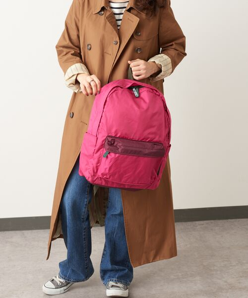 Daily russet / デイリーラシット リュック・バックパック   Backpack(L)/リュックサック(ボルドー)