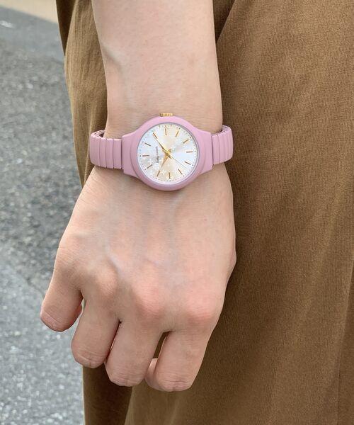 Daily russet / デイリーラシット その他小物   ミニジャバラウォッチ/腕時計(ピンク)