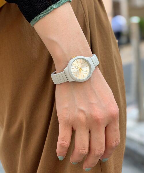Daily russet / デイリーラシット その他小物   ミニジャバラウォッチ/腕時計(グレー)