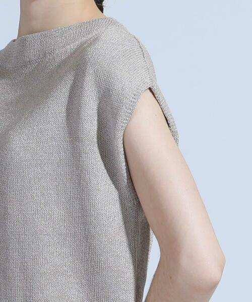DE CLASSE LAUTREAMONT / デュクラス ロートレアモン ニット・セーター | ミックスカラーのミドルゲージニット | 詳細6