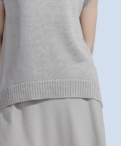 DE CLASSE LAUTREAMONT / デュクラス ロートレアモン ニット・セーター | ミックスカラーのミドルゲージニット | 詳細7
