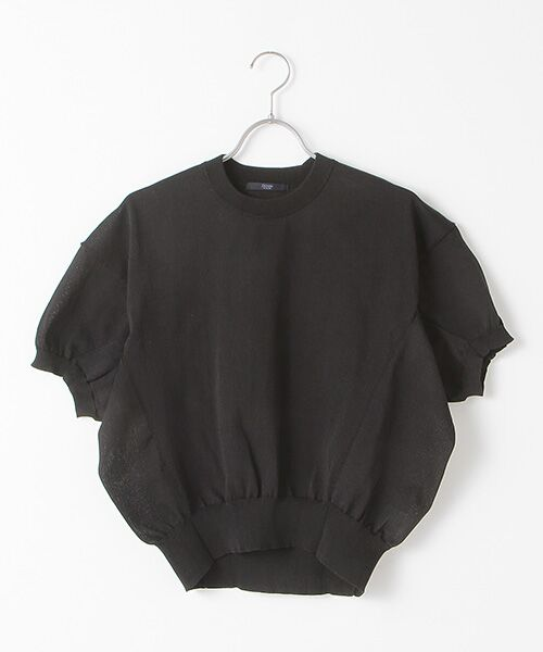 DENIM STYLE LAB / デニムスタイルラボ ニット・セーター | プルオーバー(BLACK)