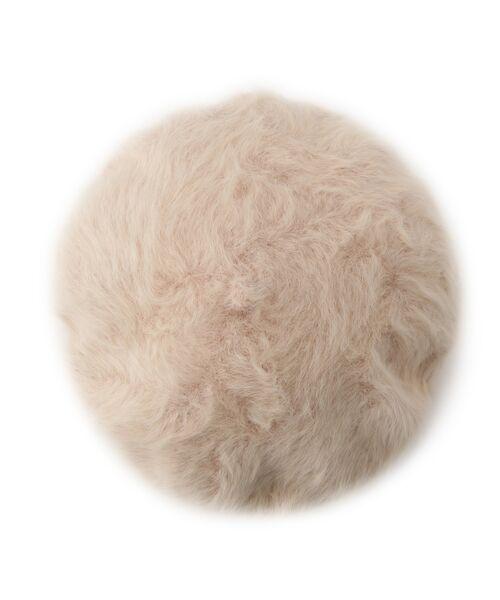 Dessin / デッサン ハンチング・キャスケット・ベレー帽 | Rebecca ファーベレー帽 | 詳細3