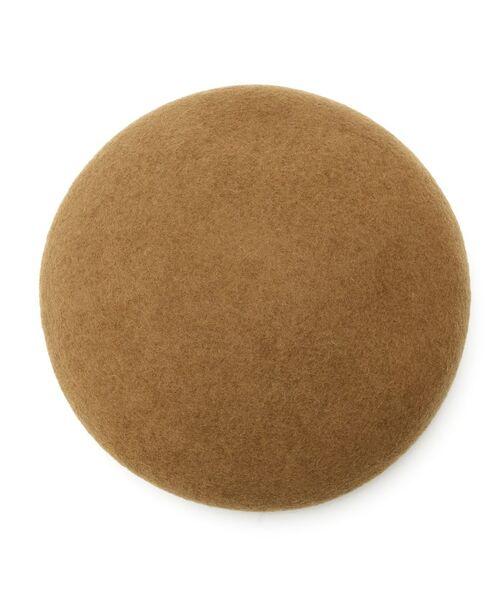 Dessin / デッサン ハンチング・キャスケット・ベレー帽 | リアルレザーコンビベレー帽 | 詳細1