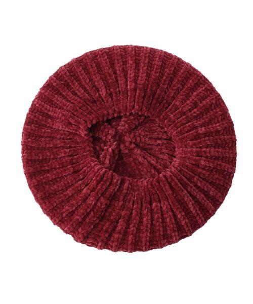Dessin / デッサン ハンチング・キャスケット・ベレー帽 | モール糸リブニットベレー帽 | 詳細3