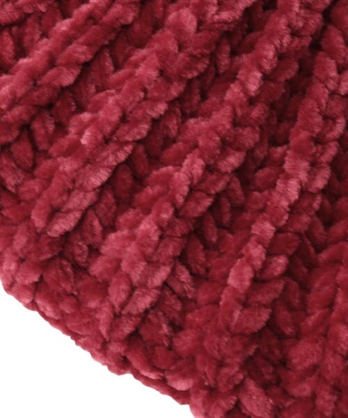 Dessin / デッサン ハンチング・キャスケット・ベレー帽 | モール糸リブニットベレー帽 | 詳細4