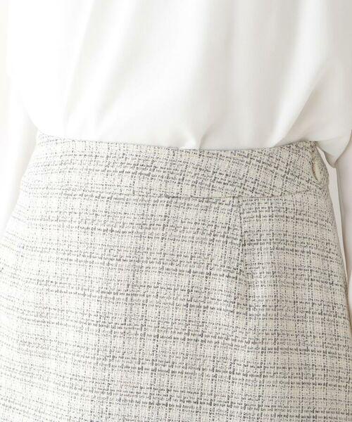 Dessin / デッサン セットアップ | メランジツィード スカート | 詳細4