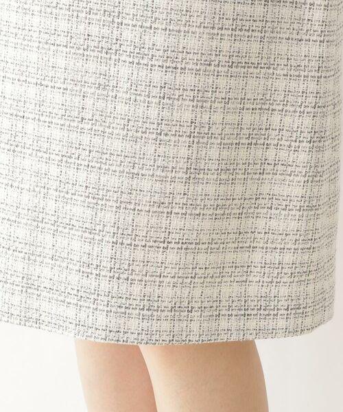 Dessin / デッサン セットアップ | メランジツィード スカート | 詳細5