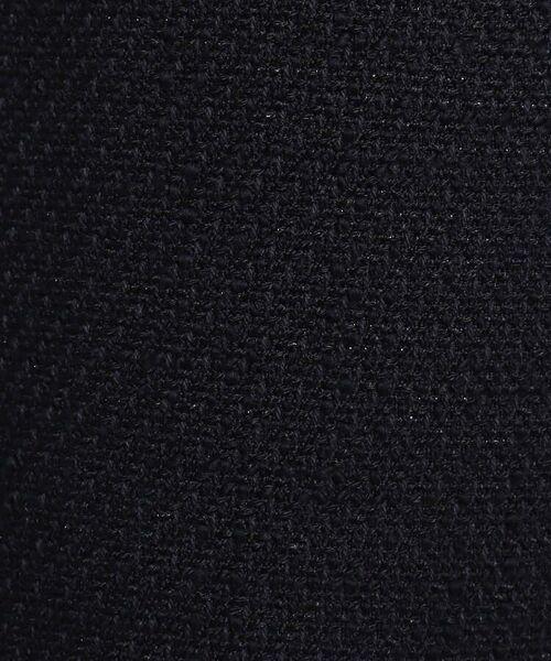 Dessin / デッサン セットアップ | 【ママスーツ/入学式 スーツ/卒業式 スーツ S~Lサイズあり】ツイードノーカラーミドル丈ジャケット | 詳細12