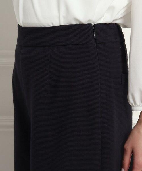 Dessin / デッサン セットアップ | 【ママスーツ/入学式 スーツ/卒業式 スーツ S~Lサイズあり】リップルポンチワイドパンツ | 詳細5