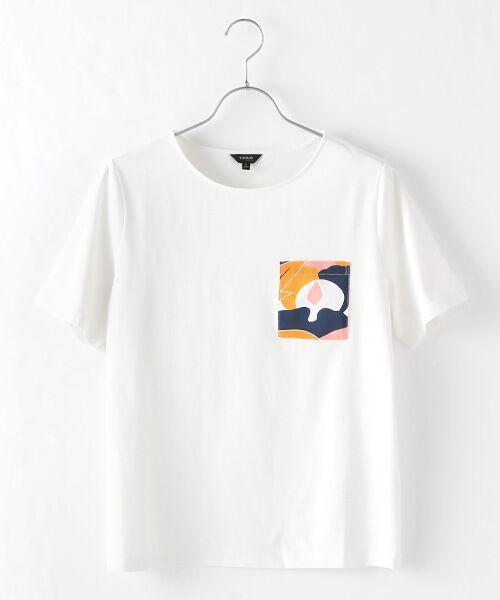 DGBH / ディージービーエイチ Tシャツ | ウィメンズ・コットンTシャツ(ホワイト)