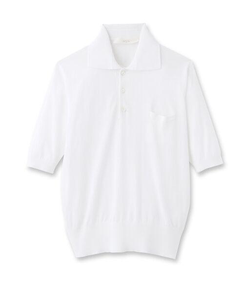 DRESSTERIOR / ドレステリア ポロシャツ | ◆seya. コットンドライタッチポロシャツ | 詳細1