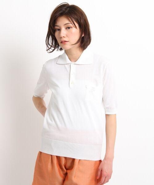 DRESSTERIOR / ドレステリア ポロシャツ | ◆seya. コットンドライタッチポロシャツ | 詳細2
