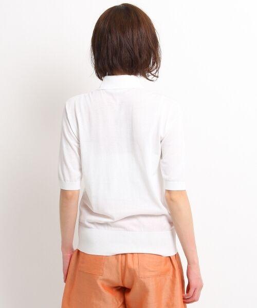 DRESSTERIOR / ドレステリア ポロシャツ | ◆seya. コットンドライタッチポロシャツ | 詳細4