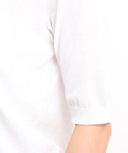 DRESSTERIOR / ドレステリア ポロシャツ | ◆seya. コットンドライタッチポロシャツ | 詳細6