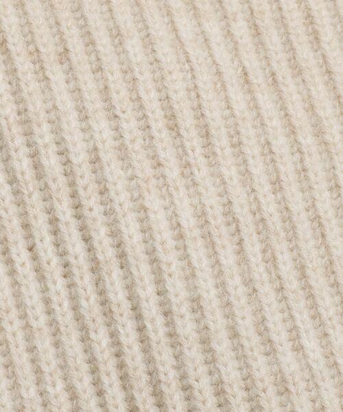 DRESSTERIOR / ドレステリア ニット・セーター   IRIS 度詰め畦ハイネックプルオーバーニット   詳細7