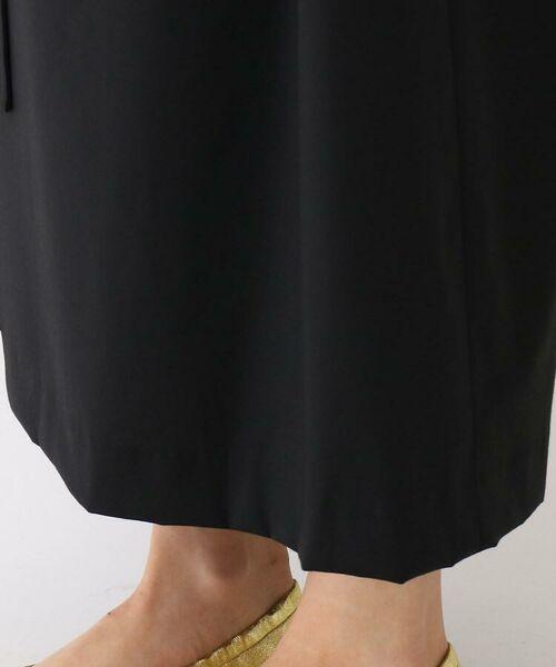 DRESSTERIOR / ドレステリア ミニ丈・ひざ丈ワンピース | robelite and CO.(ローベリィテアンドシーオー)ウールクレープ ロングドレス | 詳細10