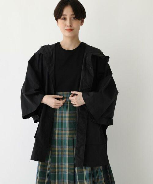 DRESSTERIOR / ドレステリア ポンチョ | Traditional Weatherwear ナイロンポンチョ(ポーチ付き)(ブラック(019))
