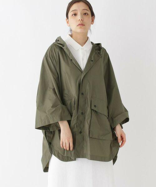 DRESSTERIOR / ドレステリア ポンチョ | Traditional Weatherwear ナイロンポンチョ(ポーチ付き)(カーキ(027))