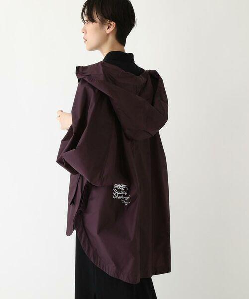 DRESSTERIOR / ドレステリア ポンチョ | Traditional Weatherwear ナイロンポンチョ(ポーチ付き)(ロイヤルパープル(082))
