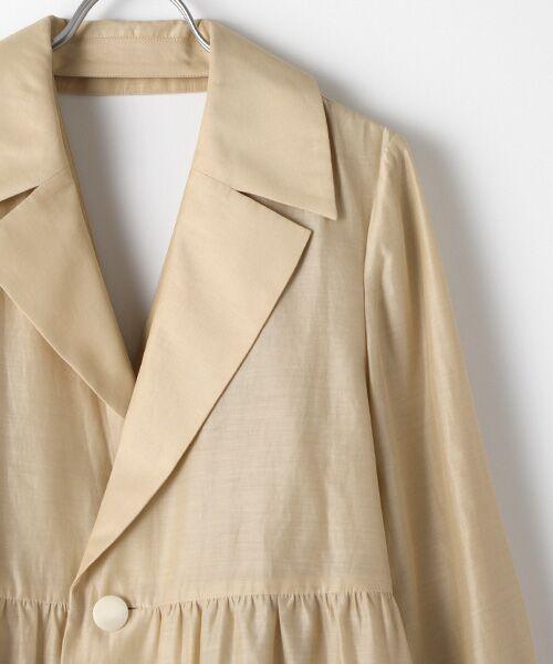 DRESS UP CLOSET / ドレスアップクローゼット ステンカラーコート | ステンカラーコート | 詳細2