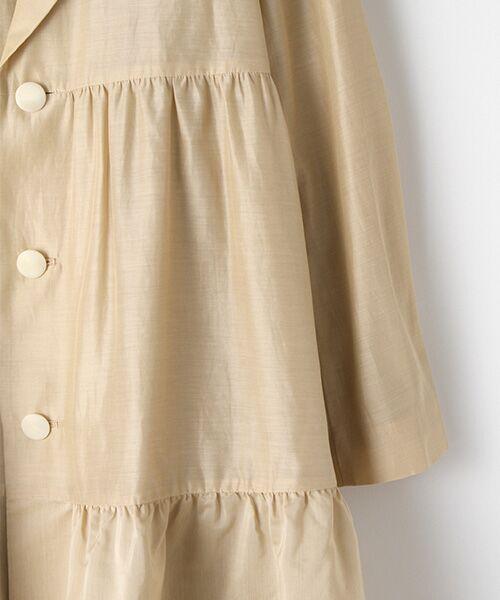 DRESS UP CLOSET / ドレスアップクローゼット ステンカラーコート | ステンカラーコート | 詳細3