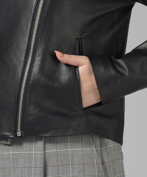 Droite lautreamont / ドロワットロートレアモン テーラードジャケット | レザージャケット | 詳細6
